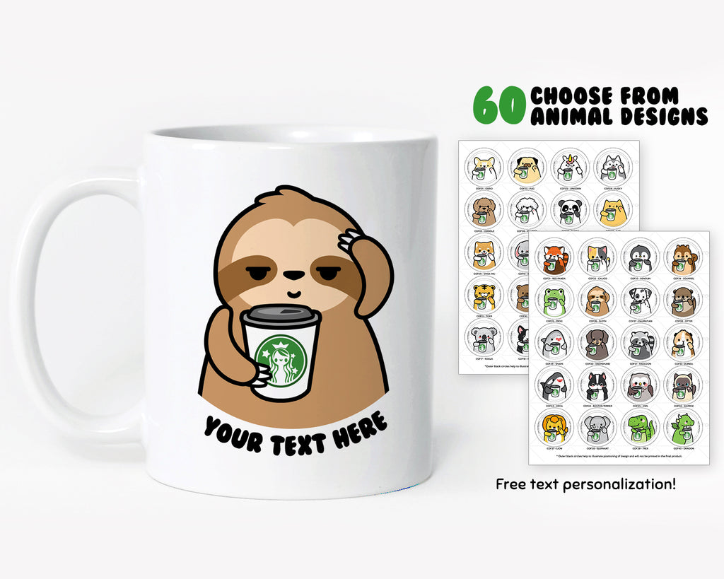 Coffee Animals Coffee Mug