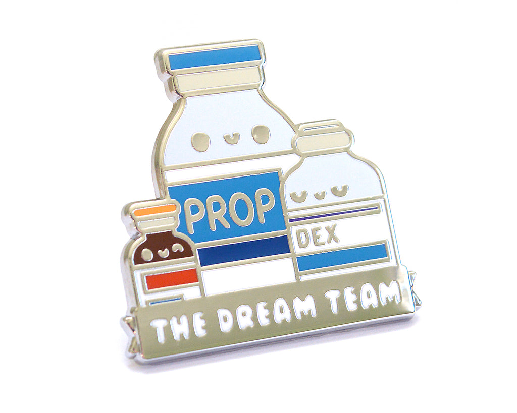 Dream Team Enamel Pin
