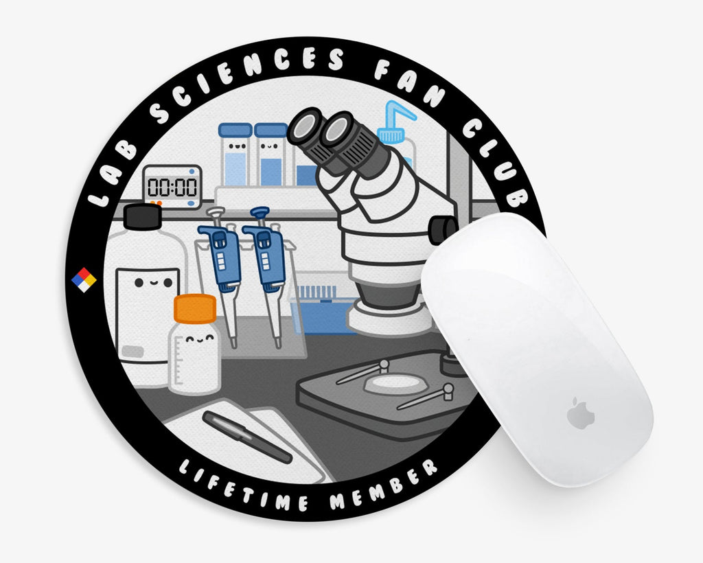 Laboratory Sciences Fan Club Mouse Pad