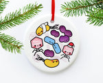 Microbiology Ceramic Ornament