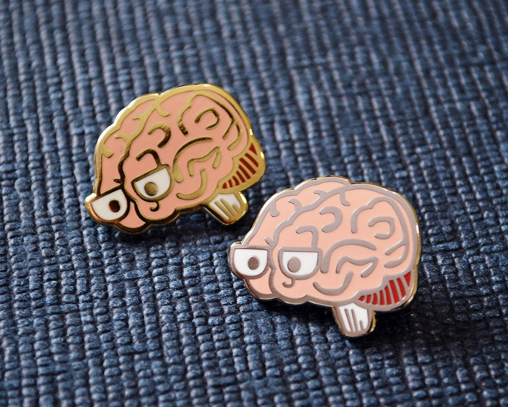 Enamel Pin, Anatomy Pin, Biology Gift, Heart Pin, Science Pin, Biology Pin, Graduation Gift, Biology Enamel pin, Science Enamel Pin, Gold Enamel Pin, Silver Enamel Pin - roocharms