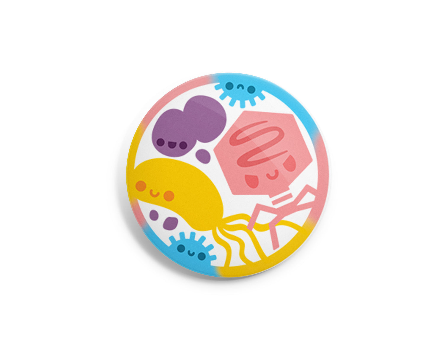 Microbes Interchangeable Charm