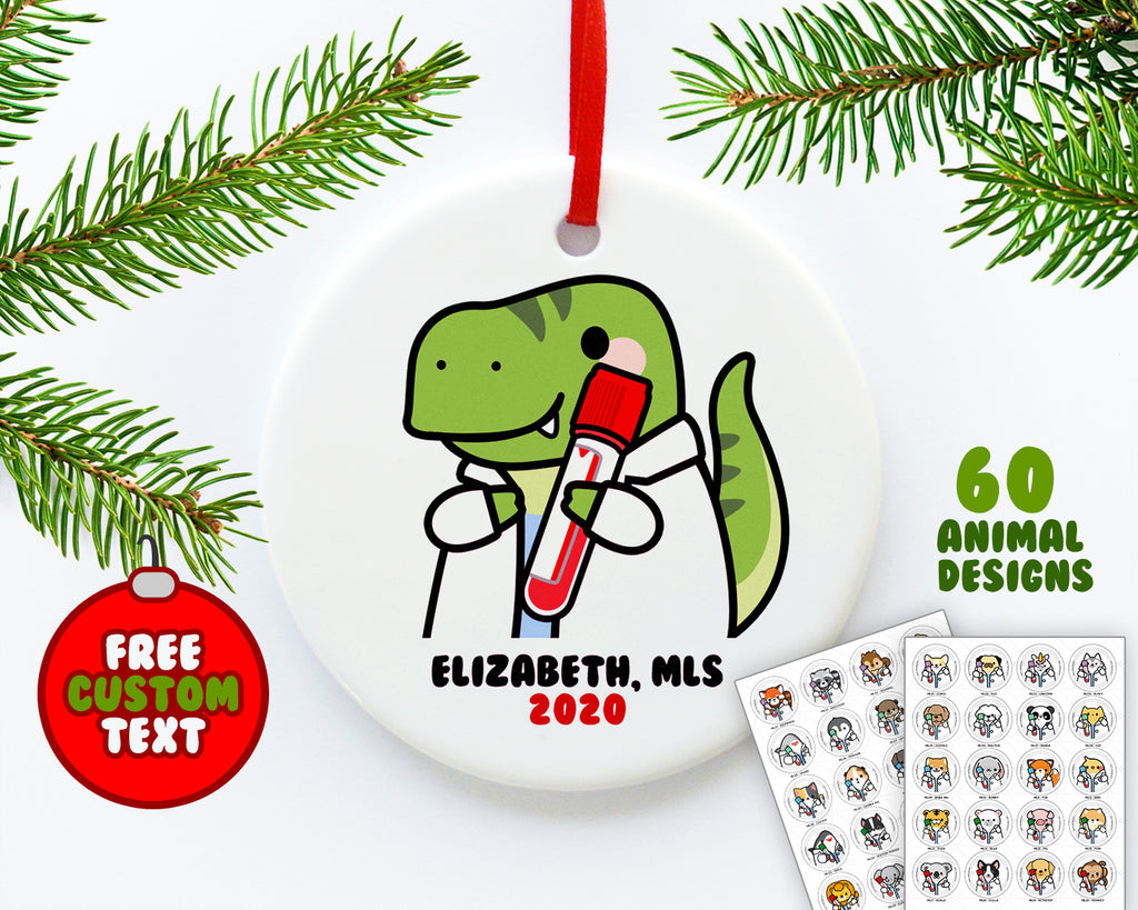 Medical Laboratory Animals Ornament