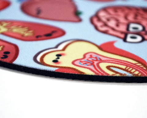 Microbiology Round Mouse Pad
