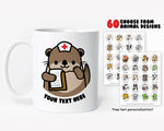 Nurse Animals Coffee Mug