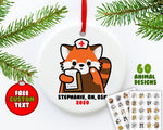 Nurse Animals Ornament