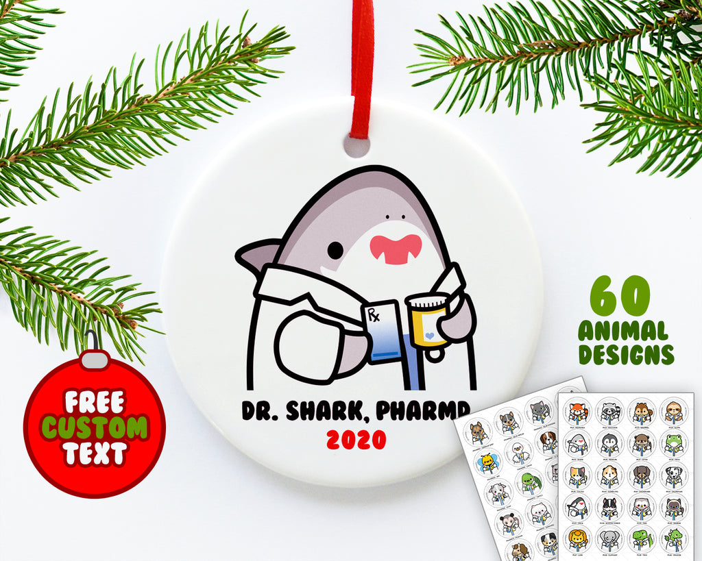 Pharmacy Animals Ornament