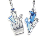 Happy Pipettes Keychain