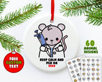 Pipette Animals Ornament