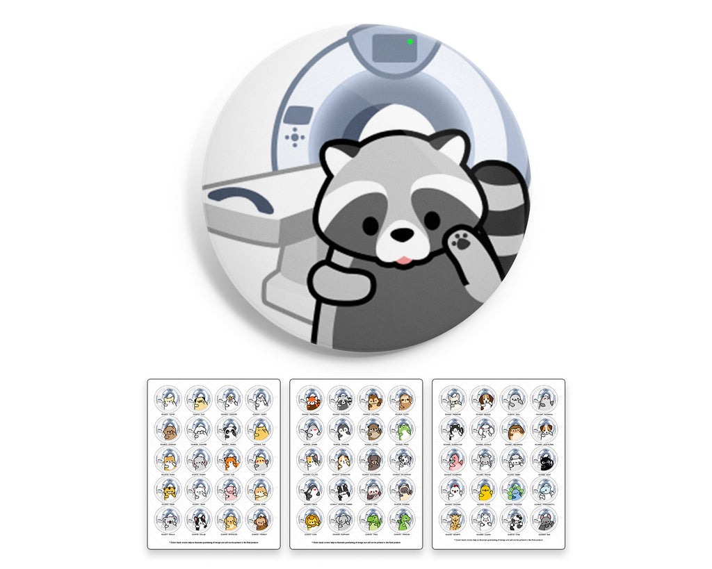 Radiology Animals Interchangeable Charm