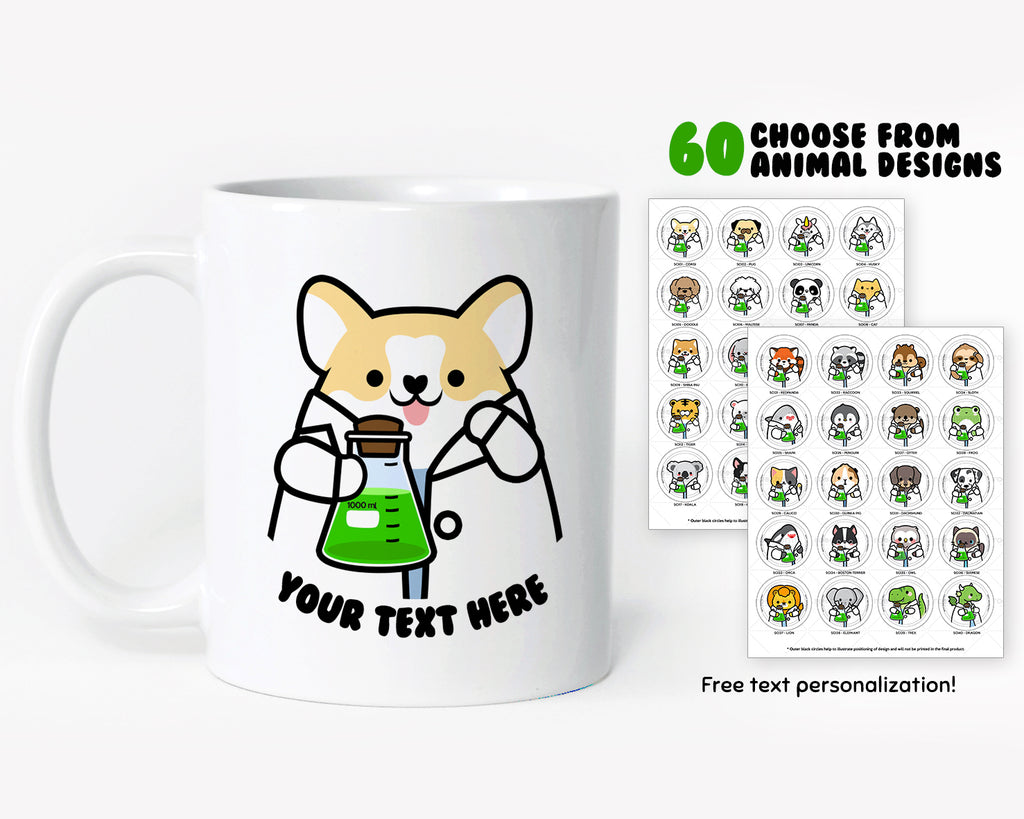 Beaker Animals Coffee Mug