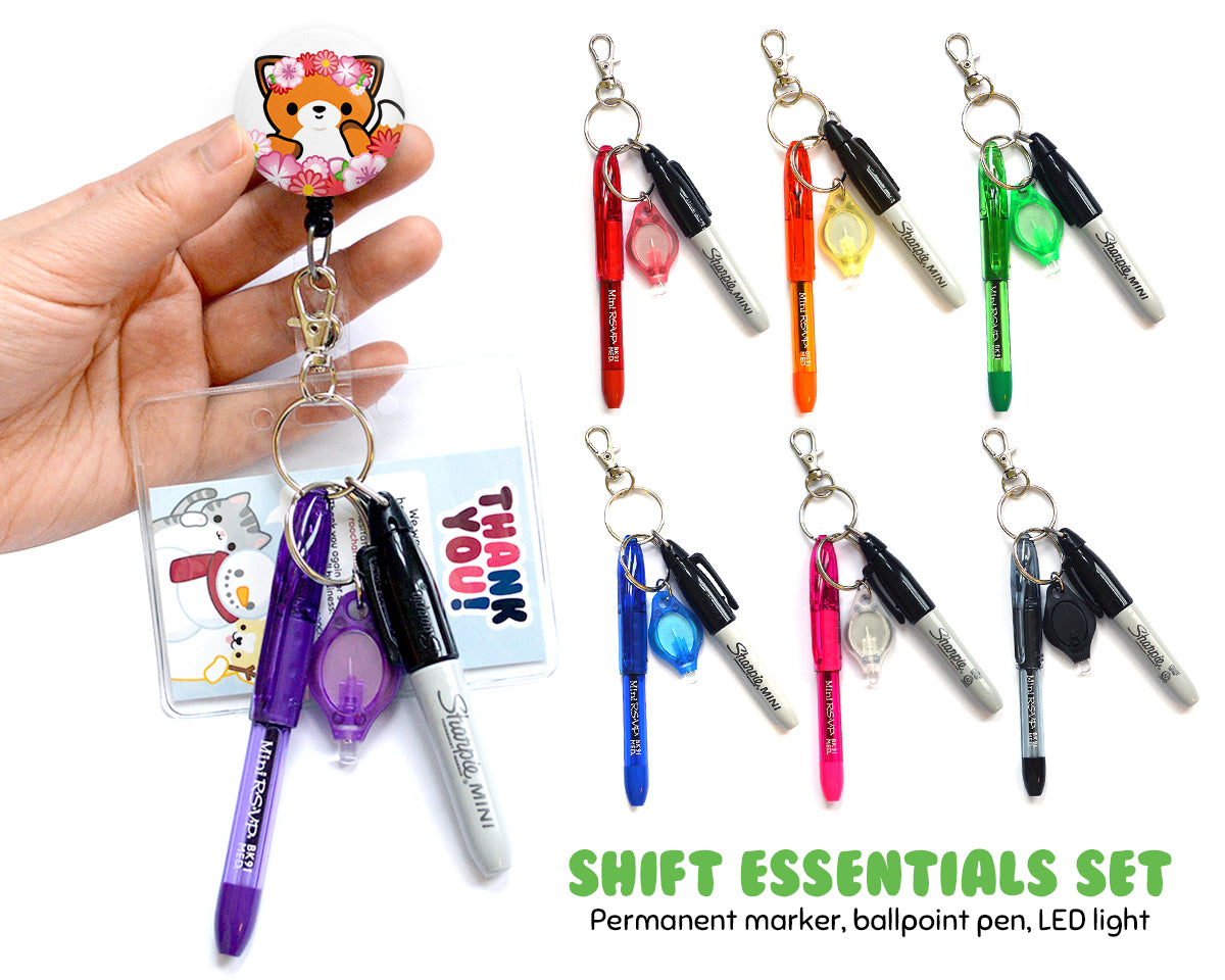 Shift Essentials Badge Reel Add-On