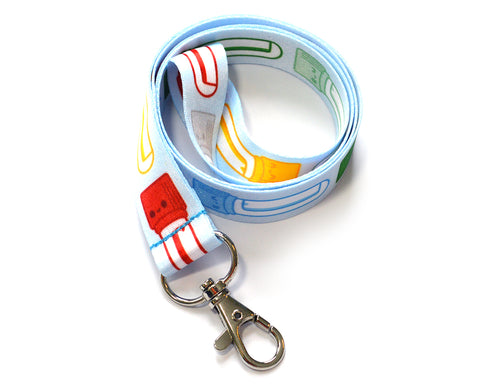 Blood Tubes Lanyard