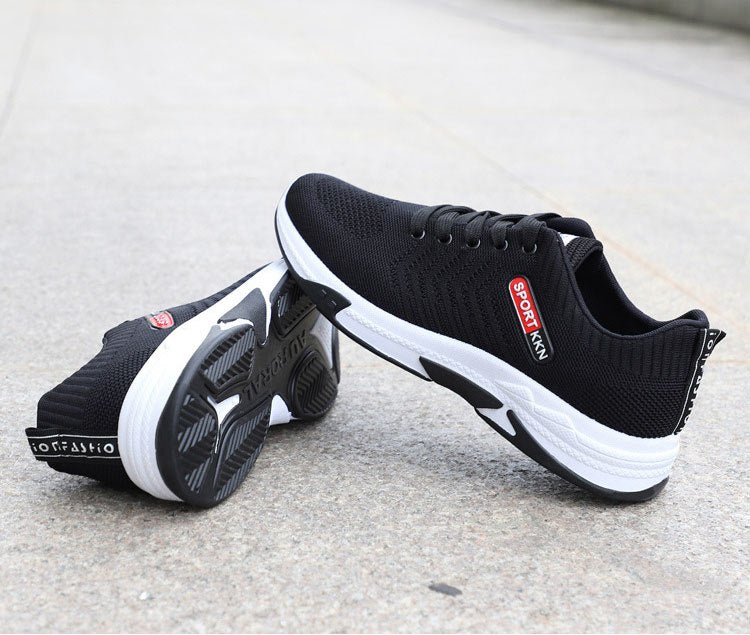 JXGXSX Men Sneaker Casual Work Shoes Non-slip Wear-resistant Protective Shoes Outdoor Breathable  Male Air Cushion Mesh Shoes