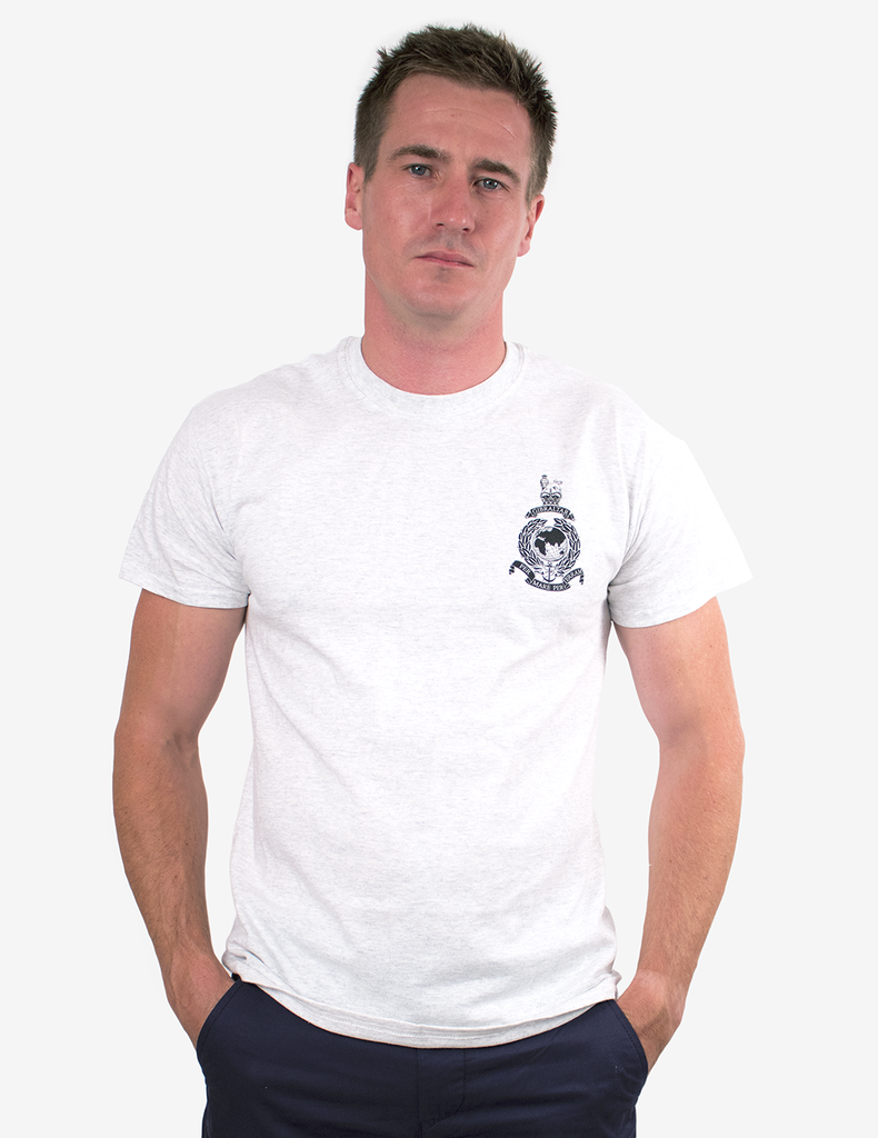 Basic Royal Marines Commando T-Shirt - Grey