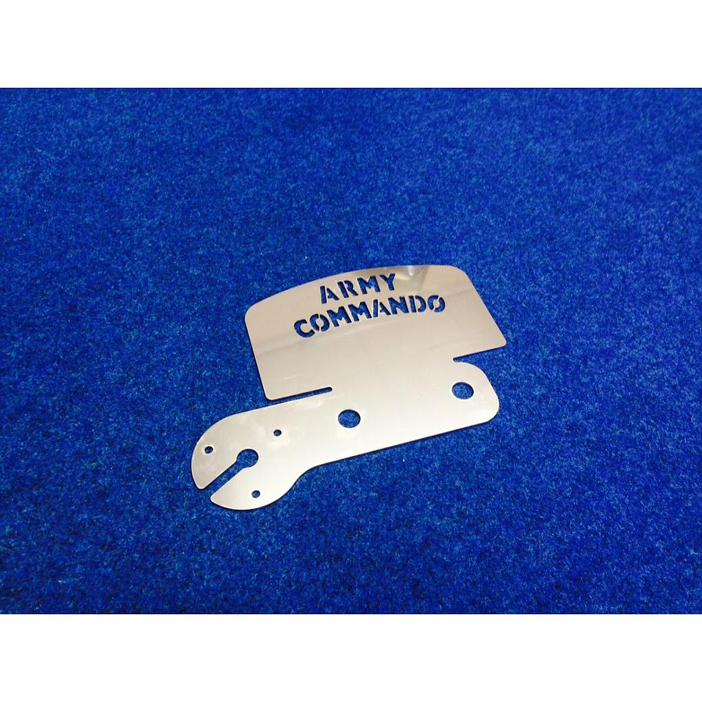 Tow Bar Plate - Army Commando