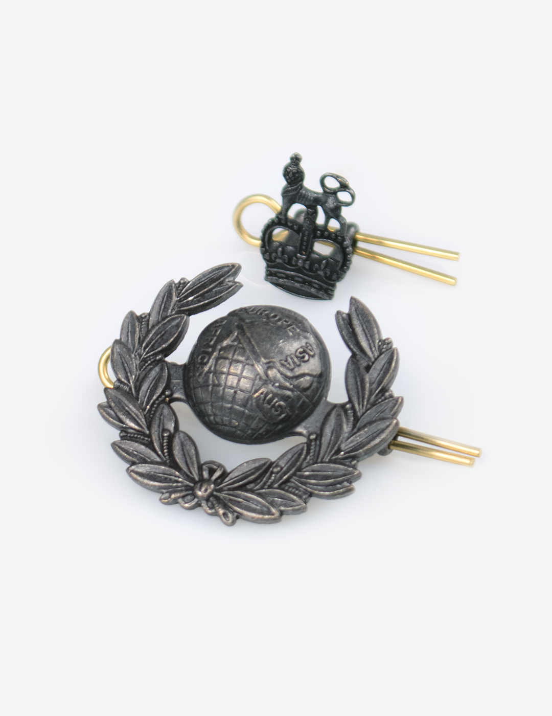 Royal Marines Commissioned Ranks Cap Badge - Field