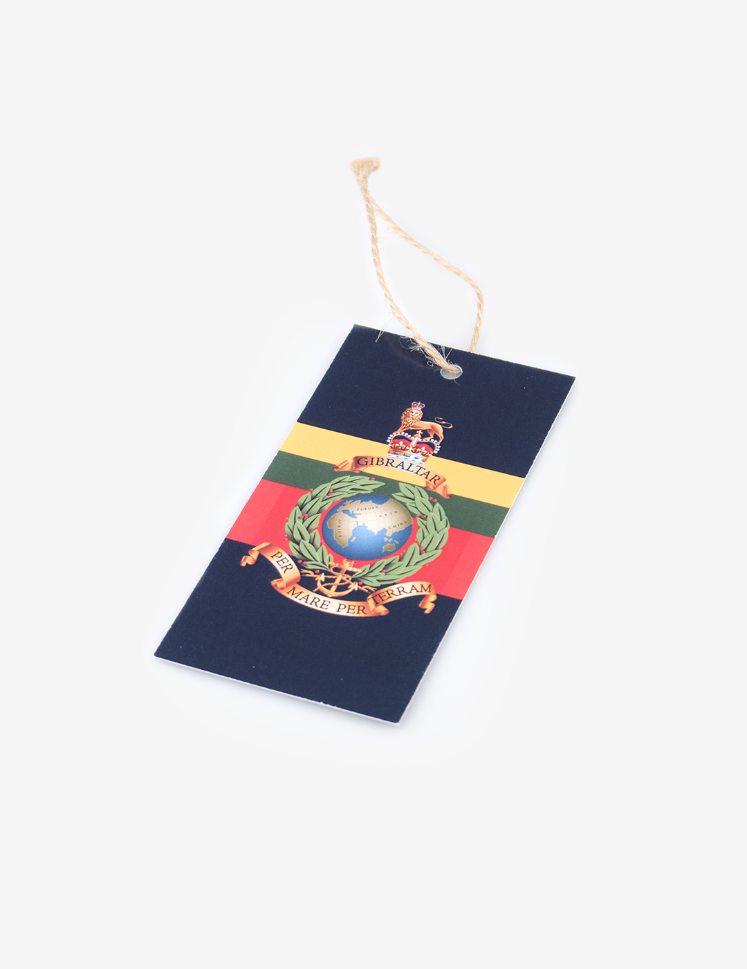 Royal Marines Gift Tag