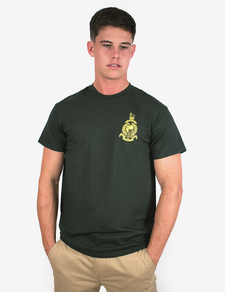 Basic Royal Marines Commando T-Shirt - Green