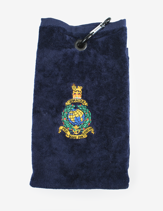 Royal Marines Corps Crest Golf Towel