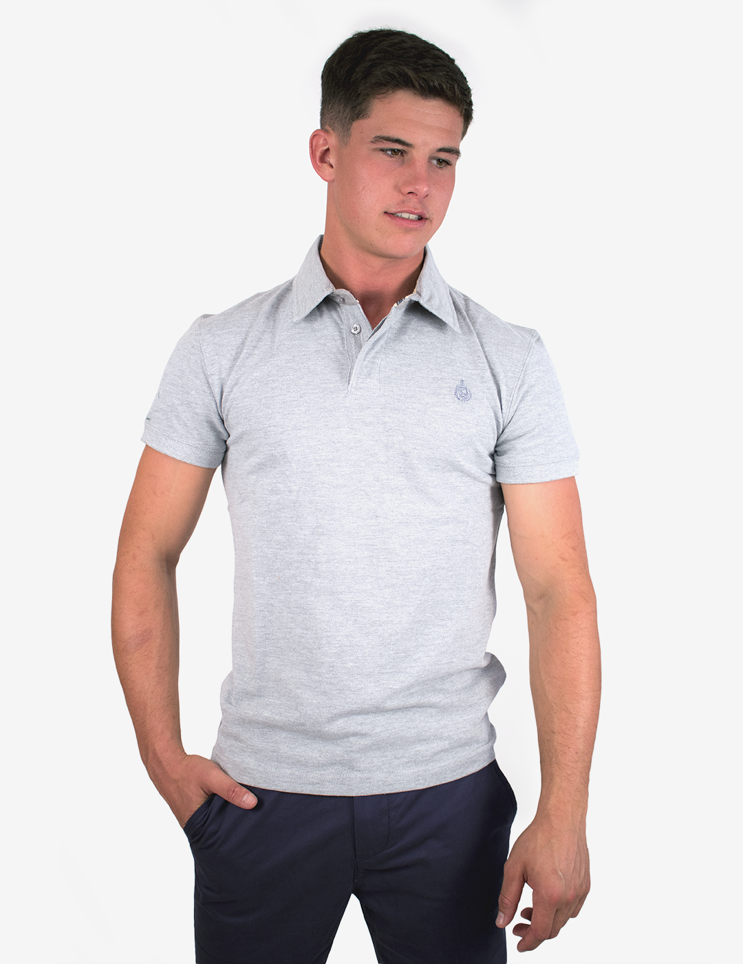Royal Polo Shirt - Grey