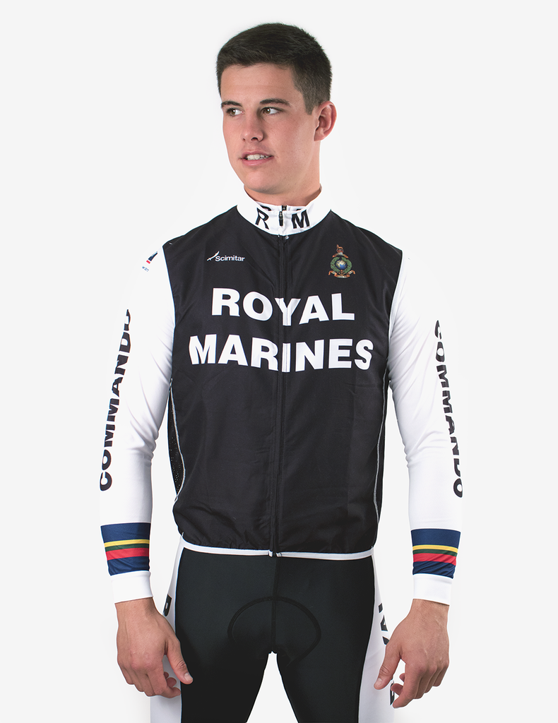 Royal Marines Cycling Gilet