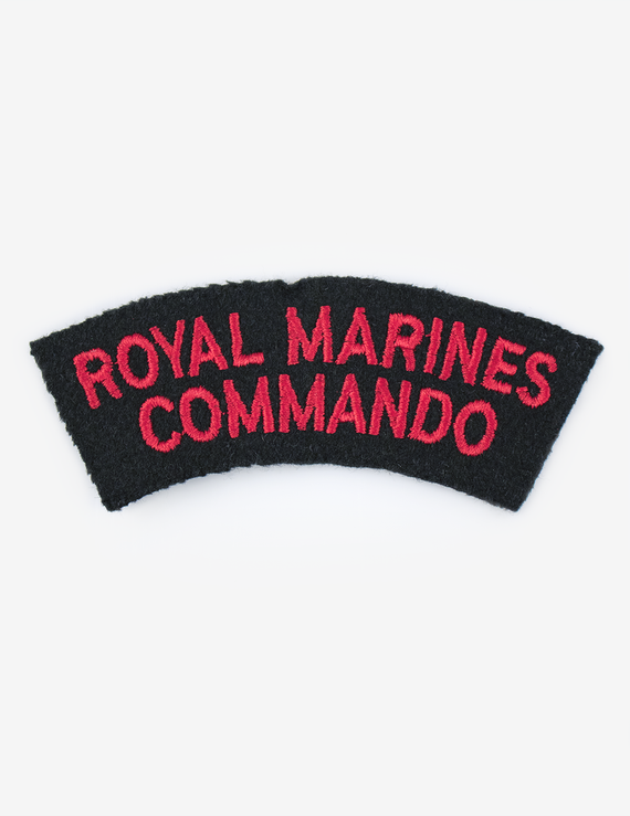 Royal Marines Commando Shoulder Flashes (Pair) - Ceremonial