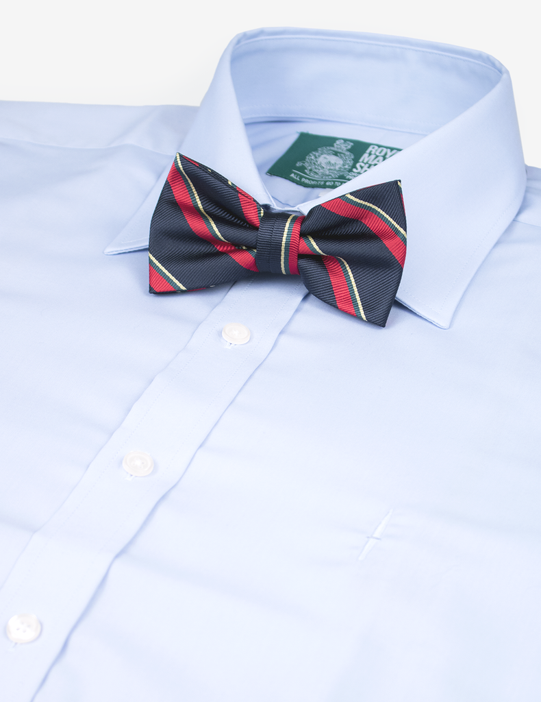 Royal Marines Corps Self-Tie Bow Tie - Silk