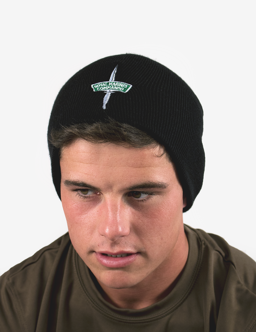 Dagger & Flash Beanie - Black