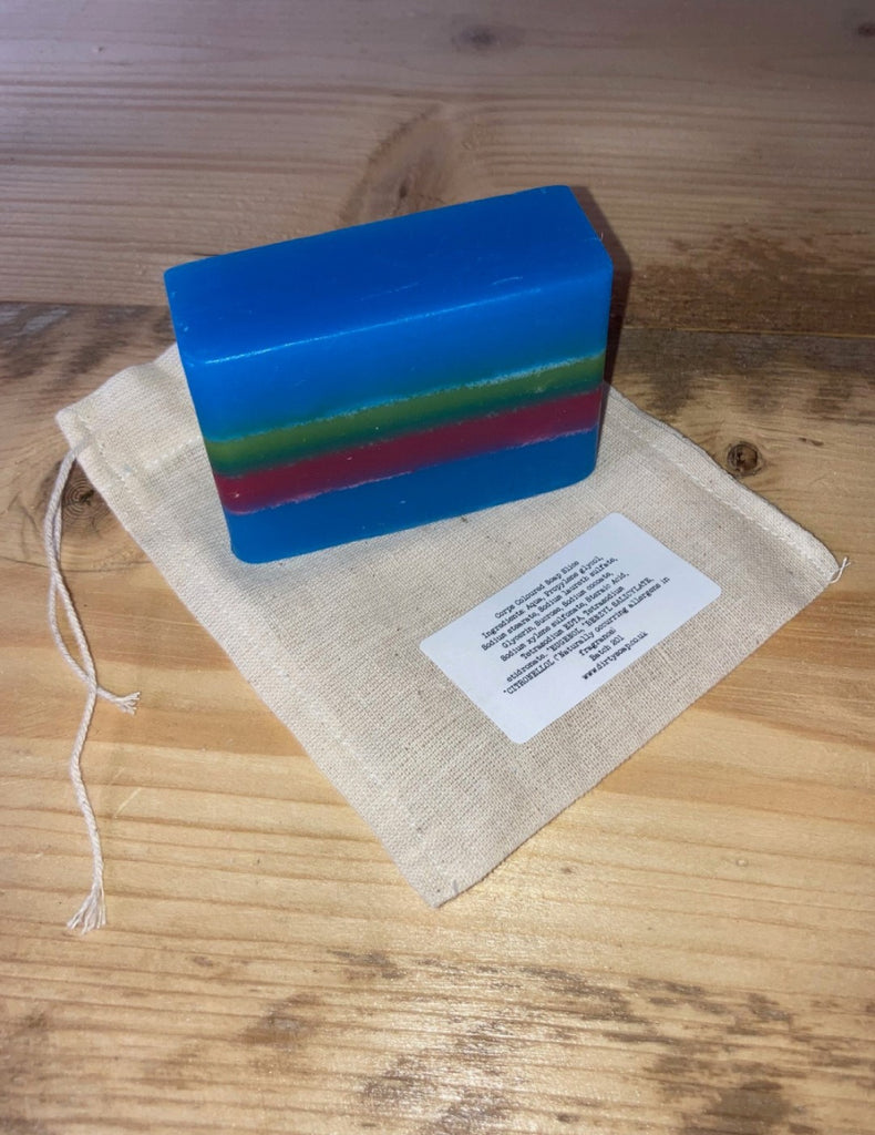 Royal Marines Corps Coloured Soap Slice