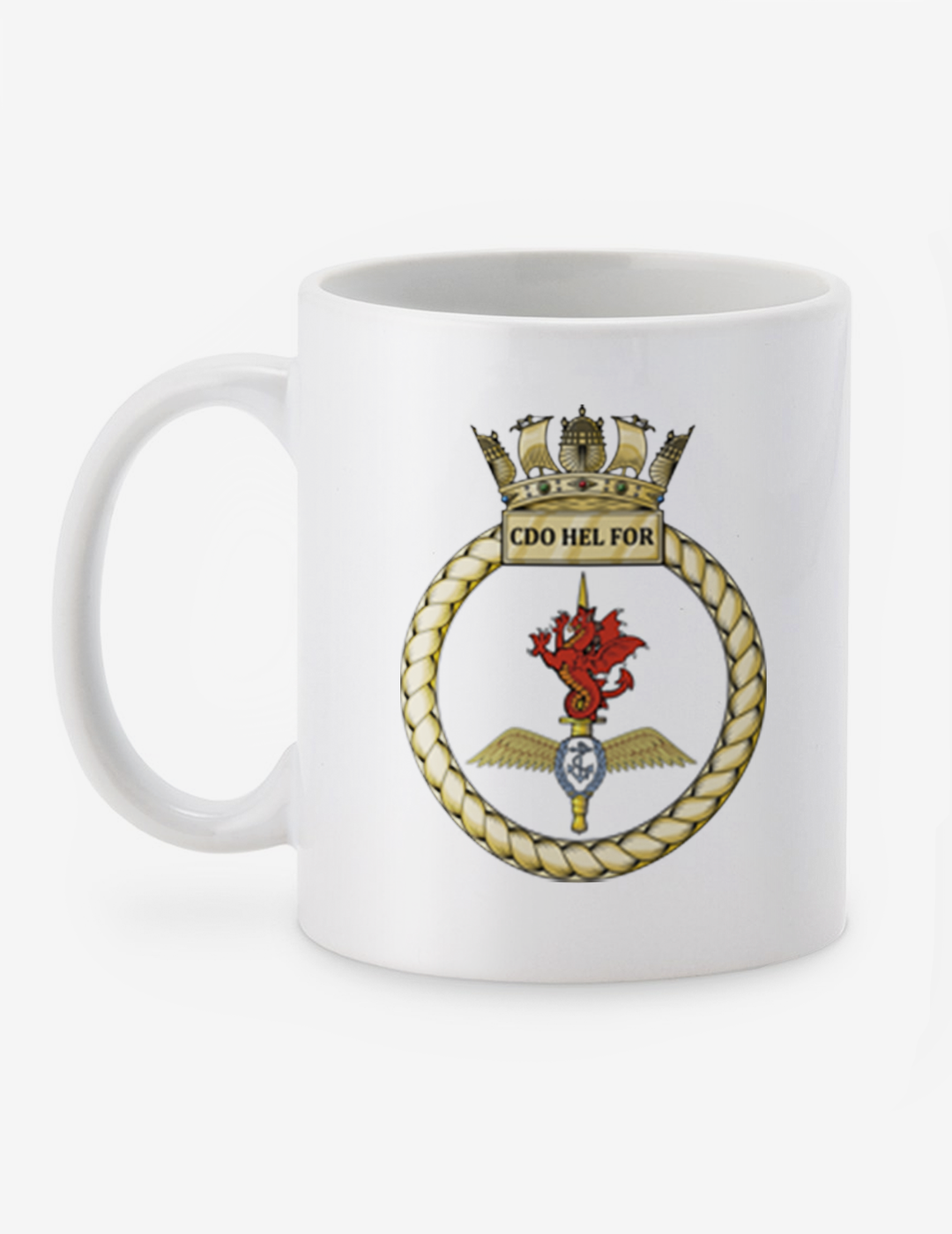 Royal Marines Cup Commando Helicopter Force Personalised Mug