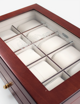 Glass Lid Medal Box