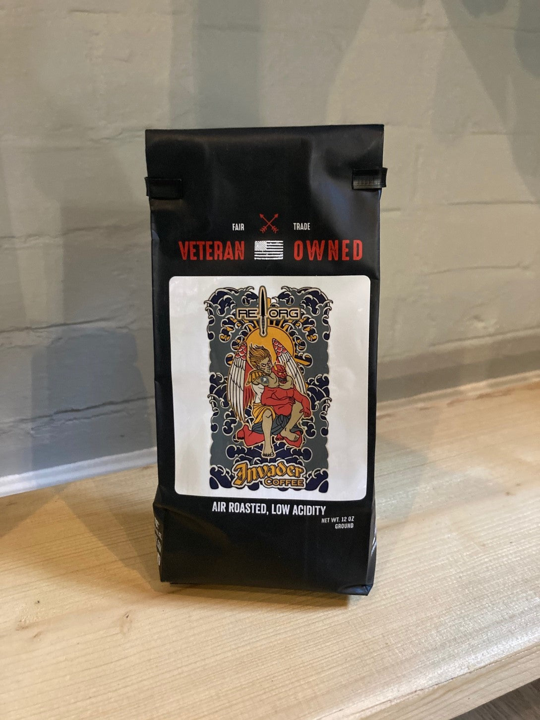 Invader Reorg Blend Ground Coffee