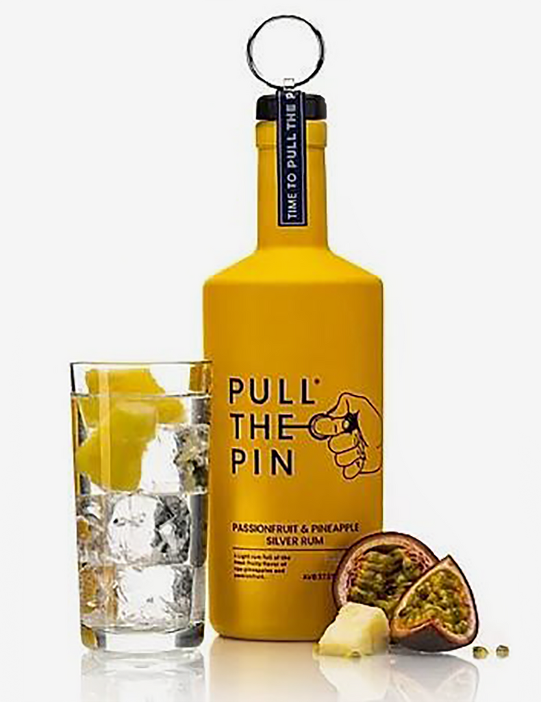 Pull The Pin Rum Passionfruit & Pineapple Silver Rum 70cl