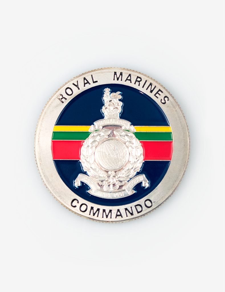 42 Commando Royal Marines Challenge Coin