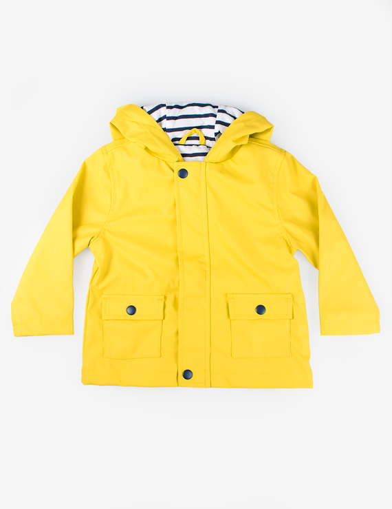 variety styles of 2019 50-70%off new styles Booty Bear Baby Rain Jacket - Yellow