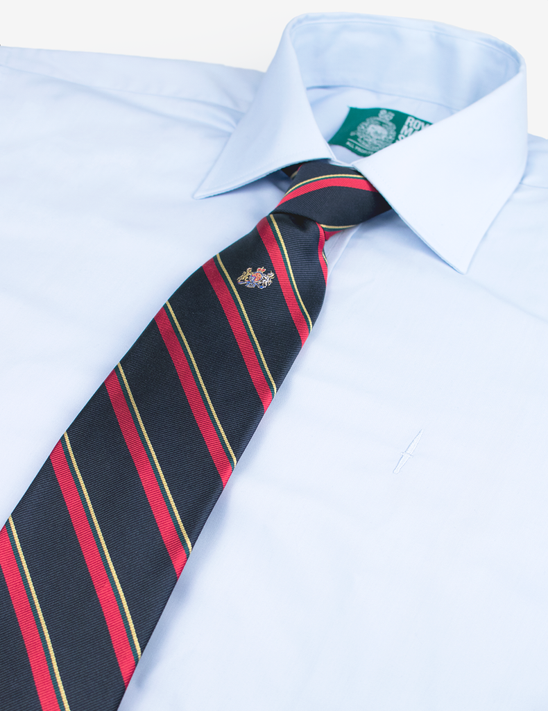 Royal Marines WO1 Tie - Silk