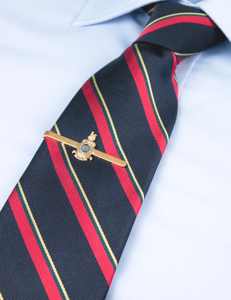 Royal Marines Corps Crest Tie Bar - Coloured