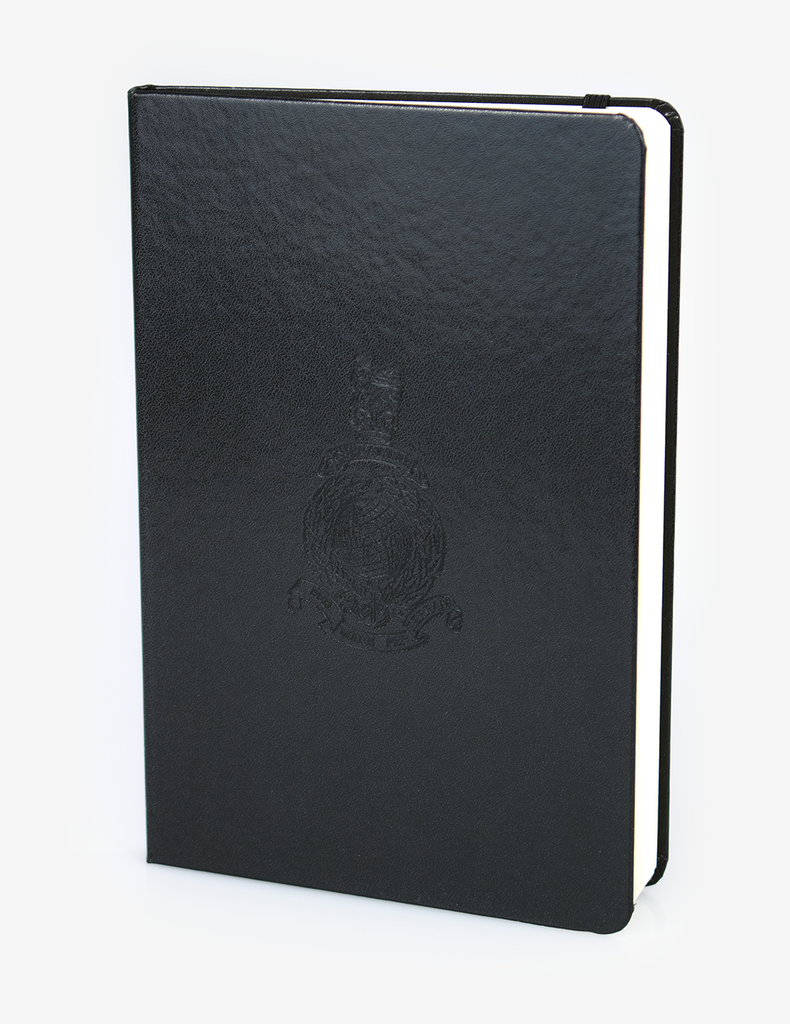 A5 Notebook - Black Hard Back