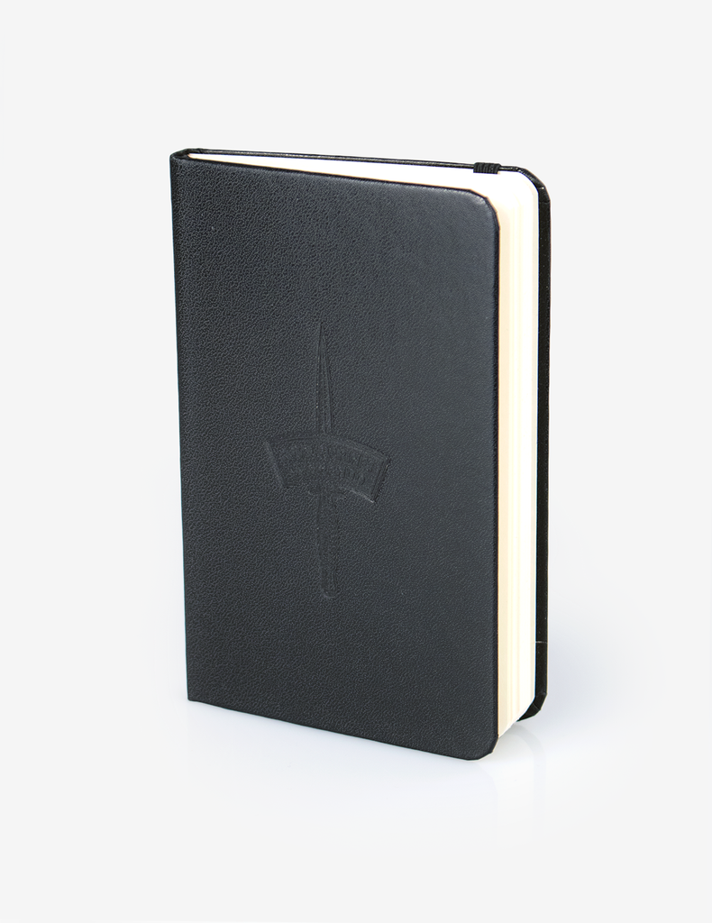 A6 Notebook - Black Hard Back