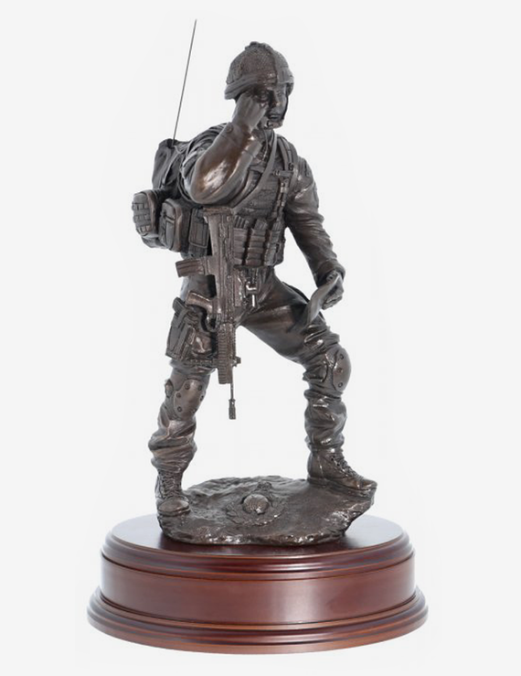 Royal Marine Contact Signaller - Bronze A5R