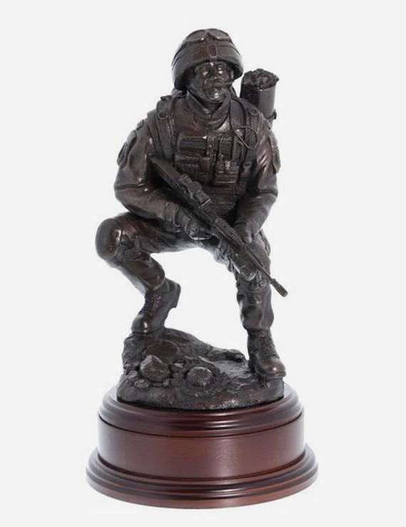 Royal Marines Helmand Medic - Bronze