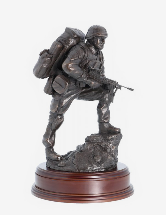 Royal Marines 'Point Man' - Bronze