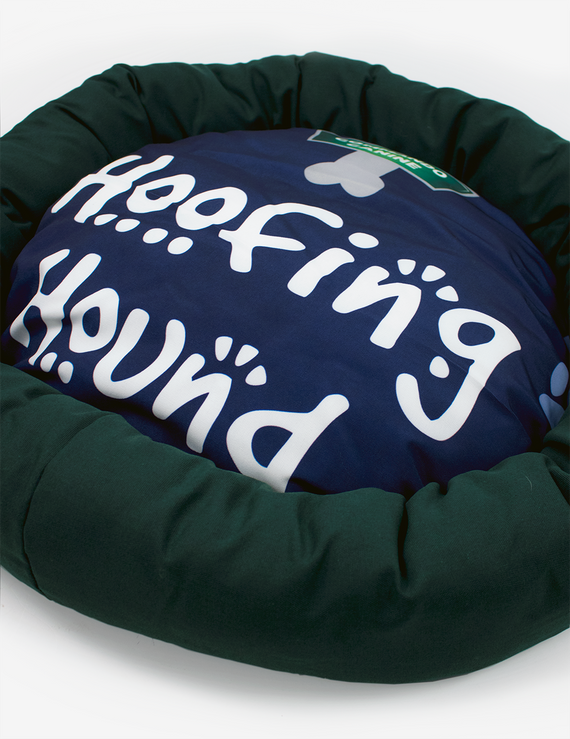 Hoofing Hound Commando Canine Yuppy Bed - Green