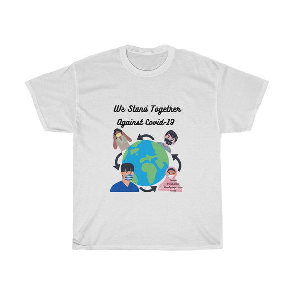 We Stand Together Unisex Heavy Cotton Tee