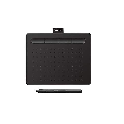 "Wacom Intuos Graphics Drawing Tablet with Bonus Software, 7.9"" X 6.3"", Black (CTL4100)"