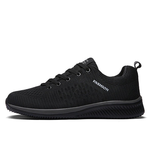 Mesh Casual Shoes Lace-up Sneakers Ultralight Breathable Running Sneakers