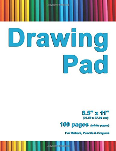 "Drawing Pad: 8.5"" X 11"", Personalized Drawing Sketchbook, 100 pages, Durable Soft Cover,Art Pencil Set-[Professional Binding]"