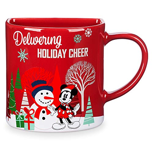 Disney Mickey Mouse Holiday Cookie Holder Mug