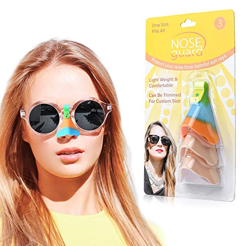 Nose Shield for Glasses and Masks- Prevent UV Radiation and Foggy Glasses Nose Shield Set of 3